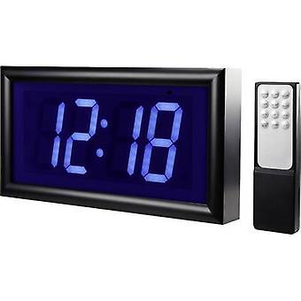 Renkforce 1369489 Quarz Wecker schwarz Alarm 2 mal