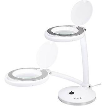 TOOLCRAFT SMD-LED lámpara de aumento de la mesa regulable Ampliación: 1,75 x Tamaño de la lente: (o) Radio de funcionamiento de 100 mm: 45 cm