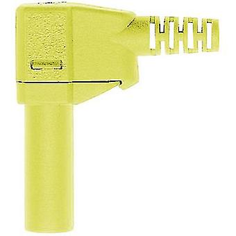 "Stäubli SLS425-SW בטיחות להב ישר תקע Plug-In, זווית ימין בקוטר פין: 4 מ""מ ירוק, צהוב 1 pc (ים)"