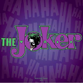 Batman Joker yhden juomia Mat/Coaster