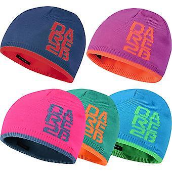 Dare 2b Boys & Girls Thick Cuff Reversable Beanie Hat