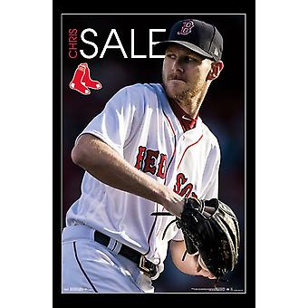 Boston Red Sox - Chris Sale Poster afdrukken