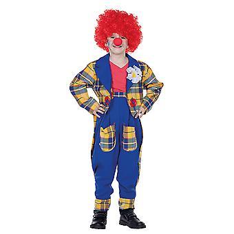Clown klänning clown kostym för barn barn kostym