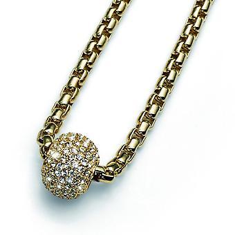 Oliver Weber Pendant Soft Gold Crystal