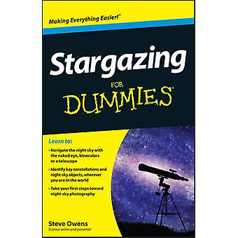 Stargazing For Dummies by Steve Owens - 9781118411568 Book