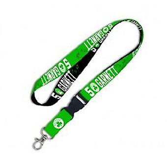 Boston Celtics NBA Kevin Garnett Lanyard