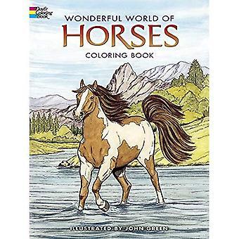 Wunderbare Welt der Pferde Malbuch (Dover Malbücher)