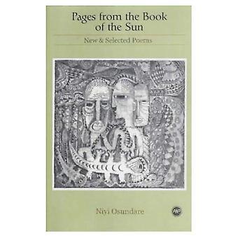 Strony z książki słońca: nowe i wybrane wiersze
