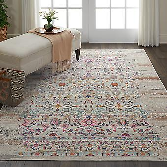 Vintage Kashan VKA02 Ivory  Rectangle Rugs Traditional Rugs
