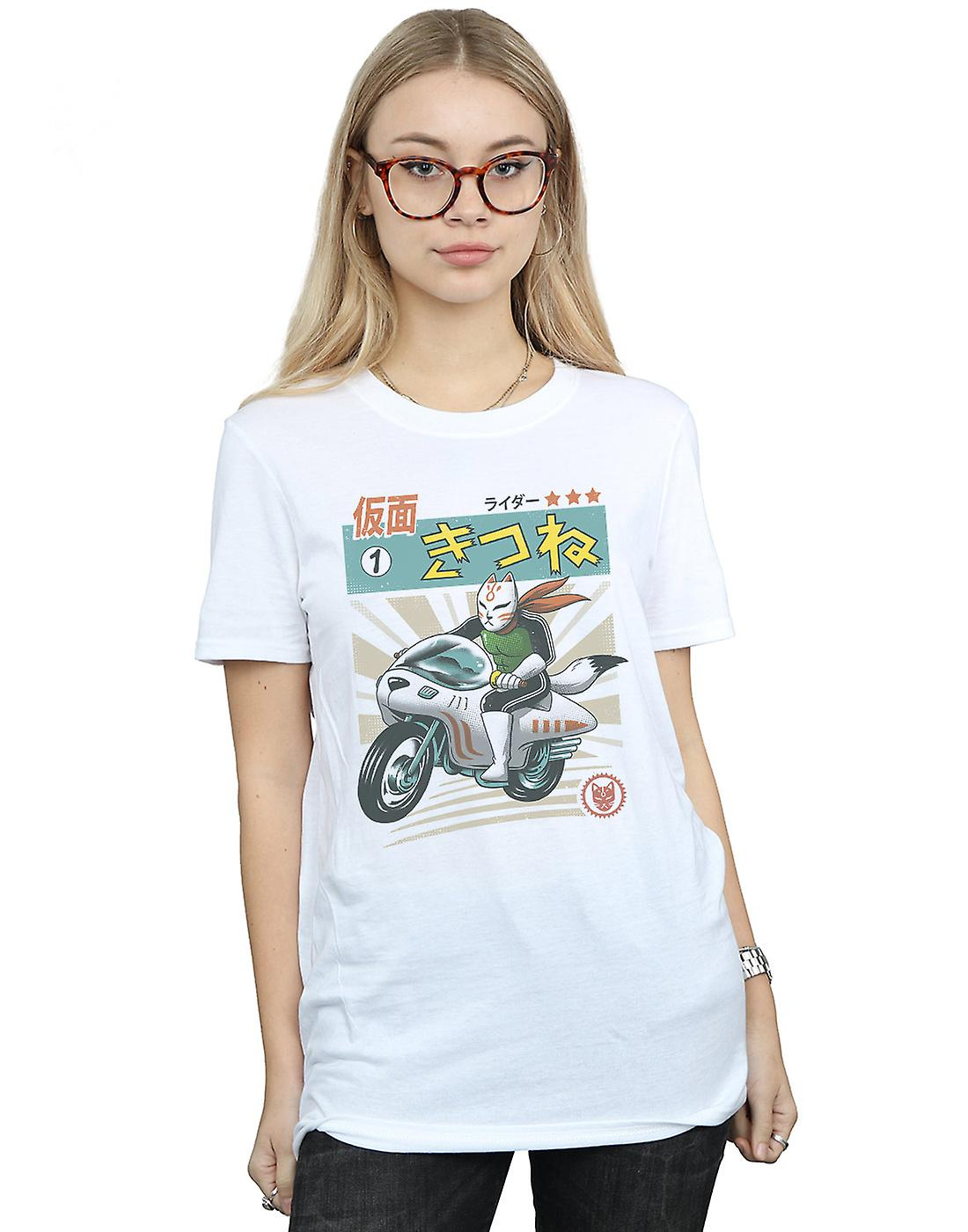 Vincent Trinidad Women's Kitsune Kamen Rider Boyfriend Fit T-Shirt