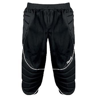 Reusch 360 Protec 3/4 niños acolchado portero portero pantalón negro