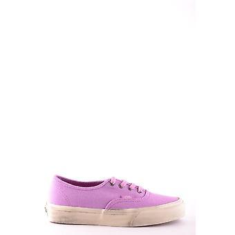 Vans Ezbc071006 Women's Fuchsia Fabric Sneakers