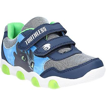 Leomil Boys How To Train Your Dragon Light Up Sport Trainers