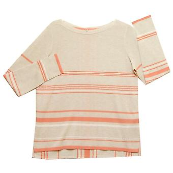 GERRY WEBER Sweater 671064 Beige And Pink