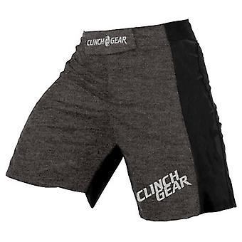 Omfavne utstyr Mens katalysator ytelse MMA BJJ Shorts - grå/svart/sølv