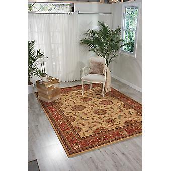 Tesouros de vida LI04 retângulo vermelho marfim tapetes tapetes tradicionais