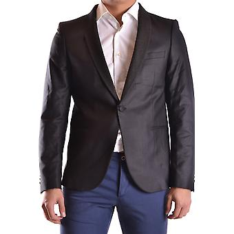 Selected Homme Ezbc157008 Men's Grey Polyester Blazer