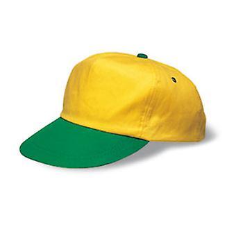 Kids Cap Brasil Um Tamanho 7-12Yrs amarelo / verde