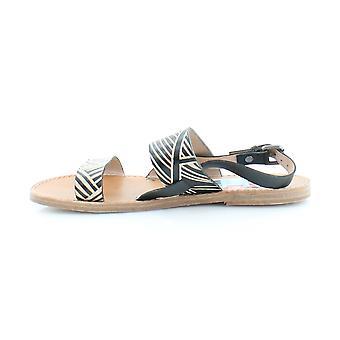 Patricia Nash Womens Elda Leather Open Toe Casual Slingback Sandals