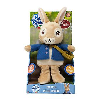 Peter Rabbit PO1572 Talking jouet en peluche
