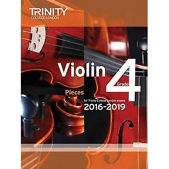 Violin Exam Pieces Grade 4 2016-2019 by Trinity College London - 9780