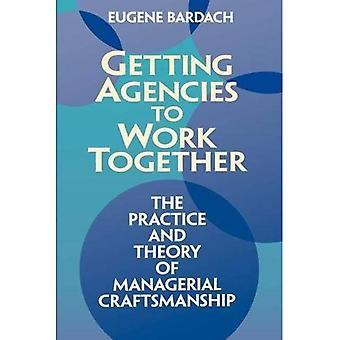 Agenturen für Arbeit zusammenkommen: die Praxis und Theorie des leitenden Handwerkskunst
