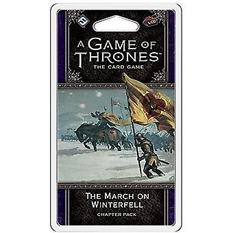 Ένα παιχνίδι των θρόνων LCG το Μάρτιο στο Γουίντερφελ κεφάλαιο πακέτο παιχνίδι καρτών