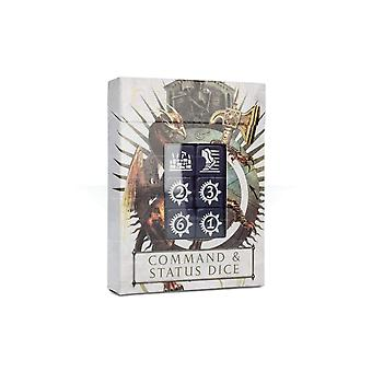 Games Workshop-Warhammer Age of Sigmar: Command & status Dice