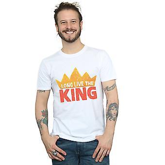 Disney Men's The Lion King Movie Long Live The King T-Shirt