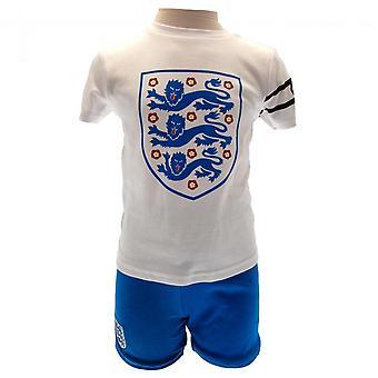 England FA Babies T Shirt And Short Set