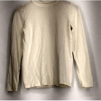 Joan Rivers Armoires constructeurs XXS Knit Turtleneck Sweater Ivory A295940 PTC