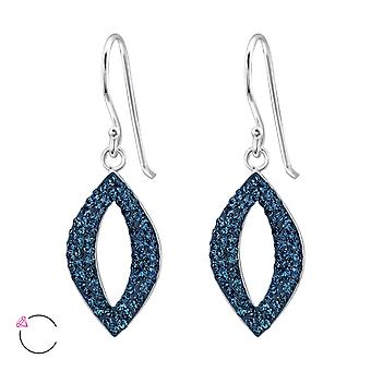 Marquise Crystal From Swarovski® - 925 Sterling Silver Earrings - W24642x