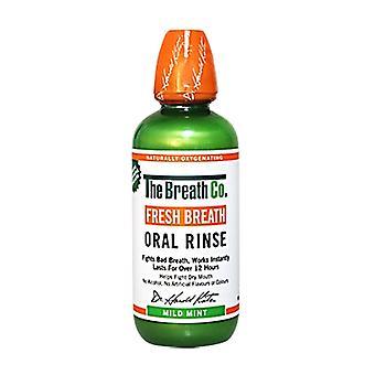 The Breath Co Oral Rinse Mild Mint