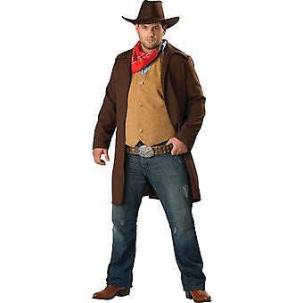 Rawhide Renegade Cowboy Western Men Costume Plus