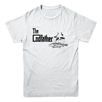T-shirt officiel hooked-Fishing - Le Codfather