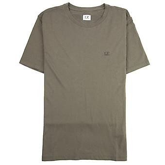 CP Company Reverse Goggle Print T-shirt Dusty Olive 661