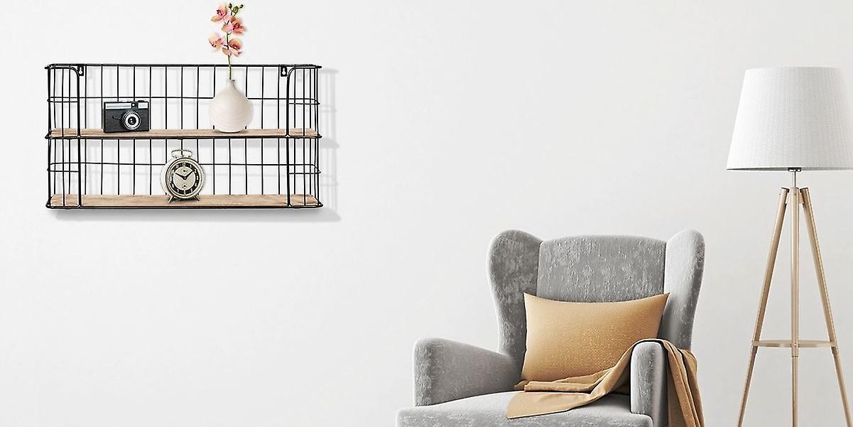 LIFA LIVING Wall Shelf Malaga