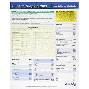 ICD-10-CM 2019 Snapshot Coding Card: Physical Medicine and Rehabilitation