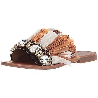 Kenneth Cole New York naisten harmaahaikara dia sandaali Fringe ja koruja