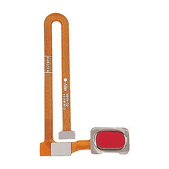 Vingerafdruk sensor voor OnePlus 6 Red Flex Cable reserveonderdeel reparatie accessoires Flex