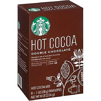 Starbucks cacao Mix Double chocolat chaud