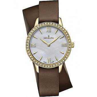 Delbana - Wristwatch - Ladies - Dress Collection - 42611.615.1.516 - Antibes