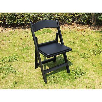 Klapstoelen Zwart 44x46x77cm, 4 St.