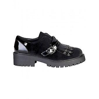 Laura Biagiotti-sko-tøfler-2254_BLACK-kvinder-Schwartz-38