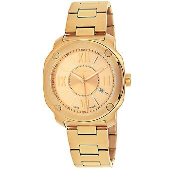 Wenger Men's Edge Romans Gold Dial Watch - 01.1141.121