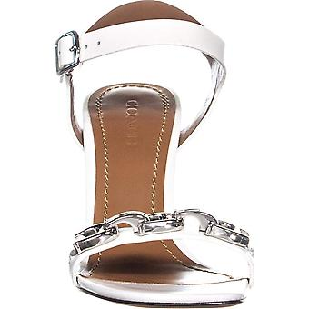 Coach Womens Bonnie SNL Leather Open Toe Special Occasion Slingback Sandals