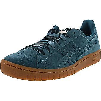 ASICS Tiger Womens Gel-PTG Suede Low Top Sneakers Blue 7 Medium (B,M)