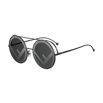 Fendi Run Away FF0285/S 807/MD Black/Grey-Silver Sunglasses