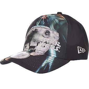 New Era Mens Star Wars Millennium Falcon Adjustable Baseball Hat Cap