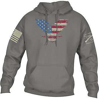 Grunt Style Freagle Pullover Hoodie - Gray